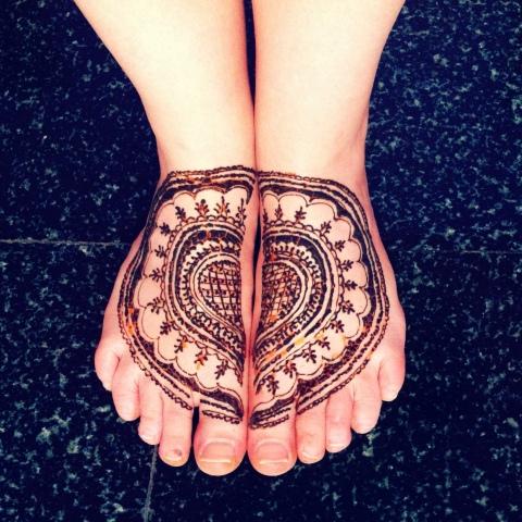 feet of love
